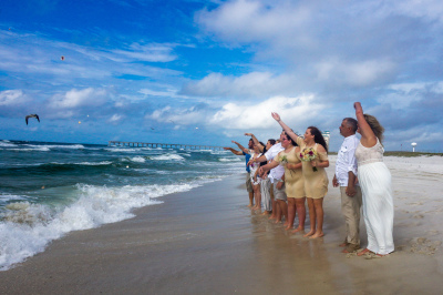 Beach Wedding Navarre